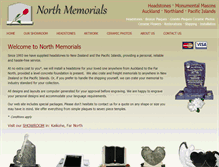 Tablet Preview of northmemorials.co.nz
